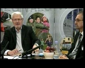 Kommunaldirektør Anders Hvid Jensen i studiet til valget 2009