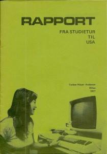 USA rejserapport 1977