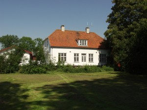 Det nye stuehus på Pile Mølle