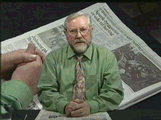 Arnold Christensen som oplæser
