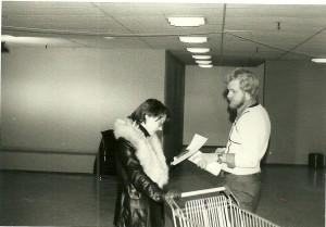 Jan Nielsen sælger andelsbeviser.